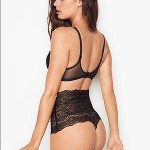 Victoria's Secret High Waist Corded Thong Panty